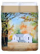 House In The Meadow Duvet Cover
