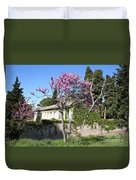 House In The Provence Duvet Cover