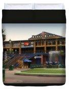 House Of Blues Downtown Disneyland Duvet Cover