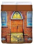 House Of God Duvet Cover