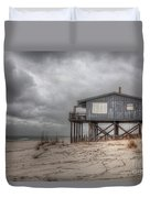 House On The Beach  Duvet Cover