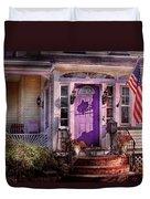 House - Porch - Cranford Nj - Lovely In Lavender  Duvet Cover