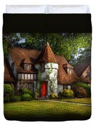 House - Westfield Nj - Fit For A King Duvet Cover