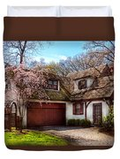 House - Westfield Nj - Who Doesn't Love Spring  Duvet Cover