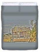 Houseboat 2 Duvet Cover