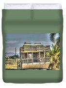 Houseboat 3 Duvet Cover