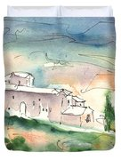 Houses In Montepulciano In Tuscany 02 Duvet Cover
