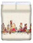 Houston Texas Duvet Cover
