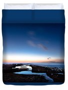 Hovering In The Sky Duvet Cover