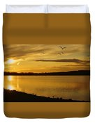 How Many Birds Can You Count? Duvet Cover