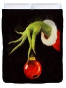 How The Grinch Stole Christmas Duvet Cover