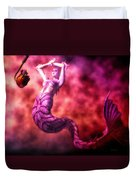 How To Catch Mermaids Duvet Cover
