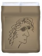 Howard Stern Duvet Cover