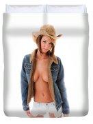 Howdy Yall Duvet Cover