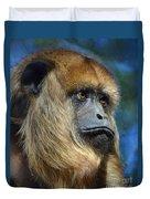 Howler Monkey Duvet Cover