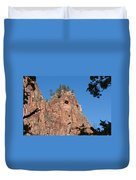 Howling Mountain Duvet Cover