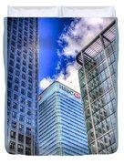 Hsbc Tower London Duvet Cover