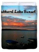 Hubbard Lake Duvet Cover
