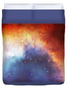 Hubble - Helix Nebula Comet - Like Filaments Duvet Cover