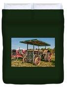 Huber Tractor Duvet Cover