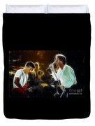 Huey Lewis-chris-gd15a-fractal-1 Duvet Cover