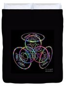 Hula Hoops Duvet Cover