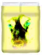 The Green-eyed Hulders Wolf Duvet Cover