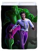 Hulk - Bruce Alter Ego Duvet Cover