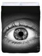 Human Eye Duvet Cover by Elena Elisseeva