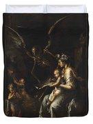 Human Frailty, C.1656 Duvet Cover