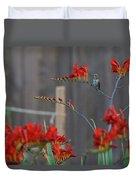 Hummingbird At Rest Duvet Cover