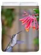Hummingbird Happiness Duvet Cover