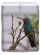 Hummingbird II Duvet Cover