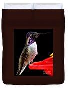 Hummingbird Male Anna Duvet Cover