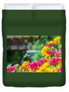 Hummingbird Moment Duvet Cover
