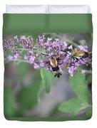 Hummingbird Moths Duvet Cover