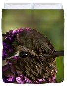 Hummingbird Portrait Duvet Cover