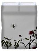 Hummingbird Silhouette I Duvet Cover