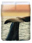 Humpback Whale Duvet Cover