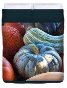 Humungous Edible Gourds Duvet Cover