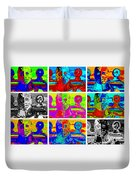 Humungus In Color Duvet Cover