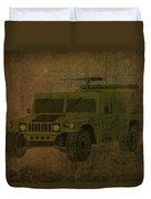 Humvee Midnight Desert  Duvet Cover