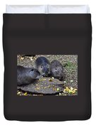 Hungry Critters Duvet Cover