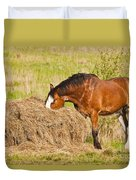 Hungry Horse Duvet Cover
