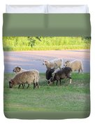 Hungry In Life  Duvet Cover