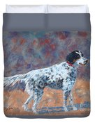Hunter On Point Duvet Cover