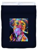 Hunter S Thompson Duvet Cover