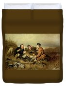Hunters, 1816 Duvet Cover