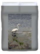 Hunting For Food Duvet Cover