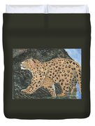 Hunting In The Hills Duvet Cover